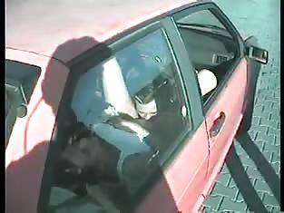 Cute Girl Fucks Her Boyfriend in a Car