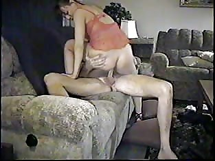 Older Babe Gets Fucked on the Couch