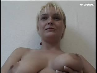 MILF With Big Tits Toys Her Own Pussy