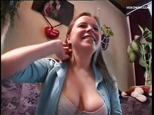 Amateur With Big Tits Pleases Her Man