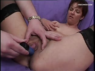 MILF Gets Fucked By Two Men At Once