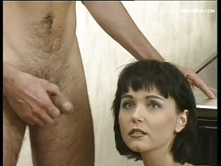 Brunette With Short Hair Has Some Excellent Blowjob Skills