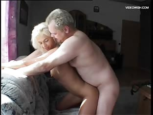 Older Man Gets to Fuck a Really Hot Blonde