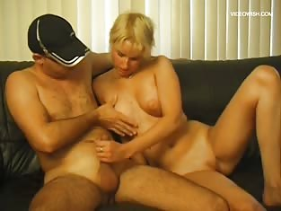 Girl Fucked in Various Positions on the Couch