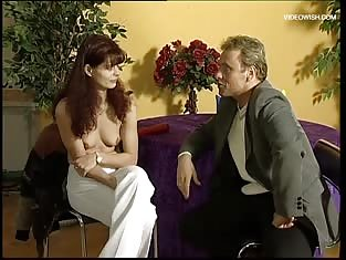 Giggly Redhead Fucked By an Interviewer