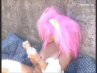 Pink Haired Girl Gets Her Pussy Fucked