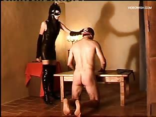 Guy Gets His Ass Tortured By a Mistress