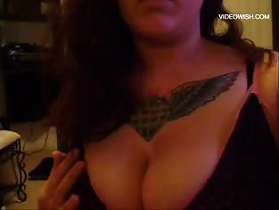 Girl With Monster Tits Teases the Camera