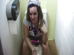 Watch This Girl Take a Hot Piss