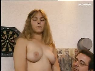 Blonde Teen Does Older Guy