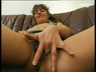 German Milf Loves Toys & Cock