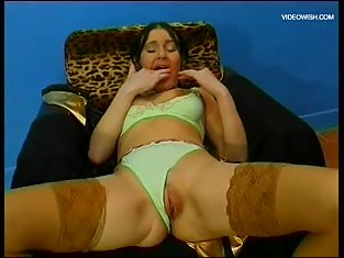 Sexy Lady Loves Her Toys Big