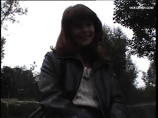 Cute brunette