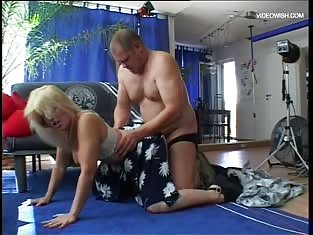 Hot German Milf Takes It Doggy Style